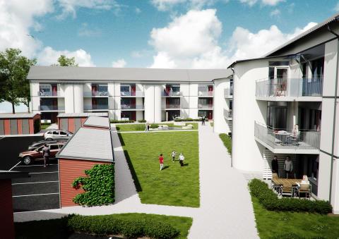 Olofstorp markvisning 8/11 kl 11-12 för nya lägenheter