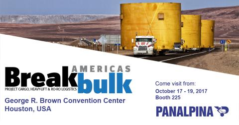 Panalpina @ Breakbulk Americas 2017 in Houston