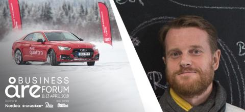 Audi laddar för eldrift under Åre Business Forum