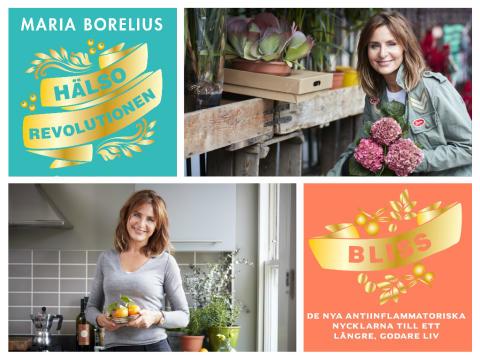 Maria Borelius, författare till succéböckerna Hälsorevolutionen och Bliss, blir sommarvärd i Sommar i P1