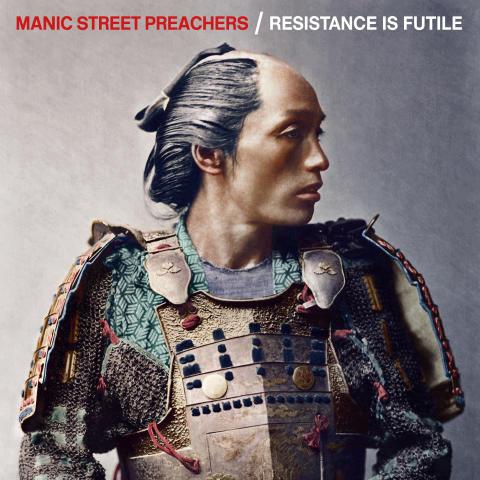 Manic Street Preachers släpper albumet 'Resistance Is Futile' idag!