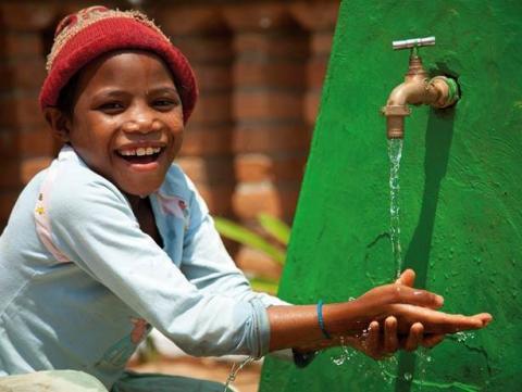 Denne julen samarbeider The Body Shop med WaterAid for å gi familier i Etiopia tilgang på rent vann