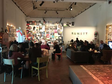 Fem olika språkcaféer på RumEtt