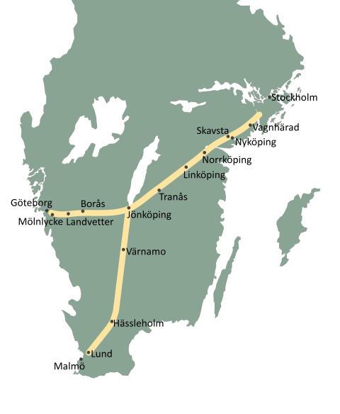 Sverigeförhandlingen kopplar bort sydöstra Sverige