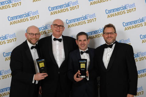 DAF dubbel vinnare vid Commercial Fleet Awards