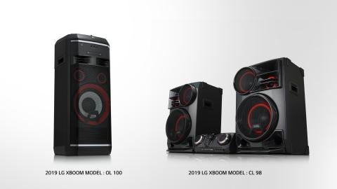 LG höjer ljudupplevelen under CES 2019 med nya modeller av XBOOM