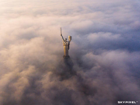 2018 SkyPixel Contest-People's Choice Prize-Kyiv monuments