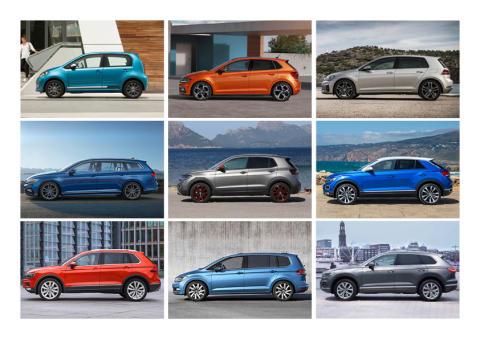 Volkswagen blev det bedst sælgende bilmærke i Danmark 2019