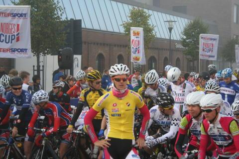 Syver Westgaard Wærsted før start i NC-avslutningen i Sandnes