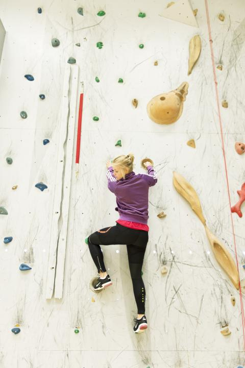Akademiska Hus investerar i unik klätterhall på Campus Umeå
