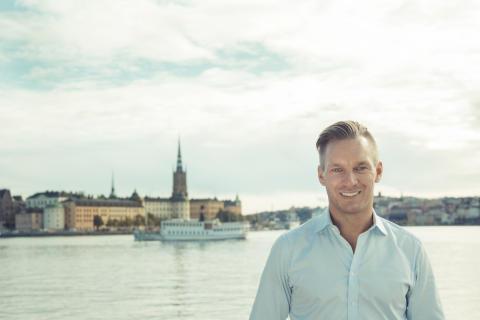 Erik Slottner toppar kommunlistan i Stockholms stad