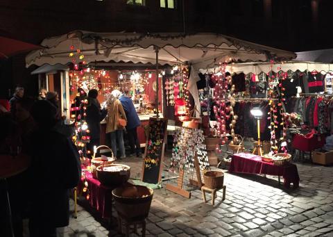 Bod på Berlins skandinaviske julemarked