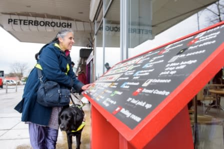 Virgin Trains unveils tactile station maps for visually impaired travellers