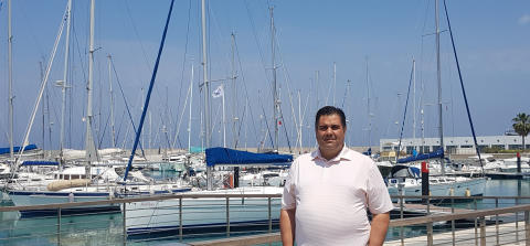 Hi-res image - Karpaz Gate Marina - Bahadir Gökçetekin, the new Karpaz Gate Marina Harbour Master