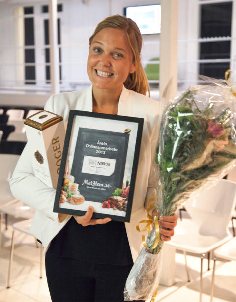 Nestlé får Mathems samarbetspris