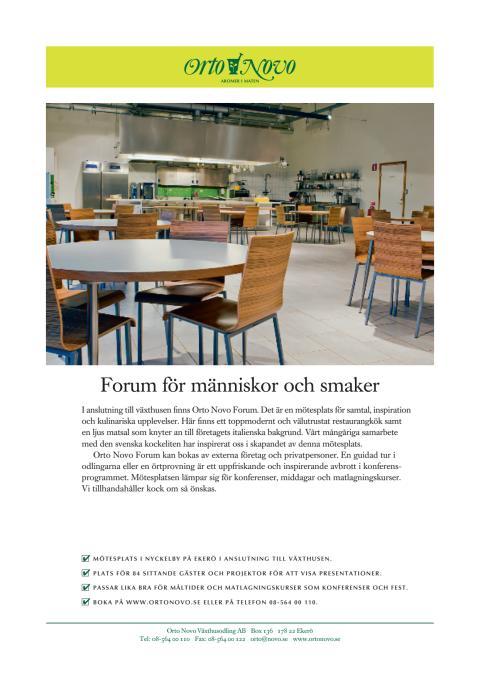 Orto Novo Forum