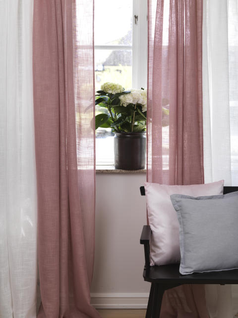 Curtain Melissa, Cushion Silva, Cushion Stockholm