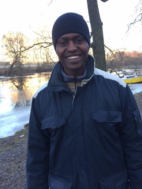 Besök av psykolog från DR Kongo för kompetensutbyte