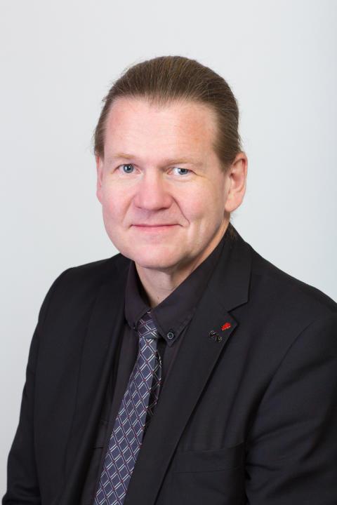 Kenneth Forsberg (S), ordförande kommunfullmäktige
