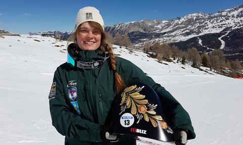 Rättviks Britta Backlund siktar på VM-medalj