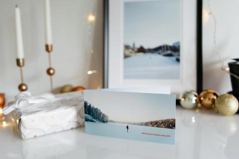 Ifolorin tutkimus: Luonto on suosituin joulukortin kuva-aihe