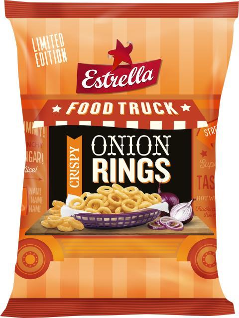 LTD Food Truck 2019 från Estrella: Onion Rings