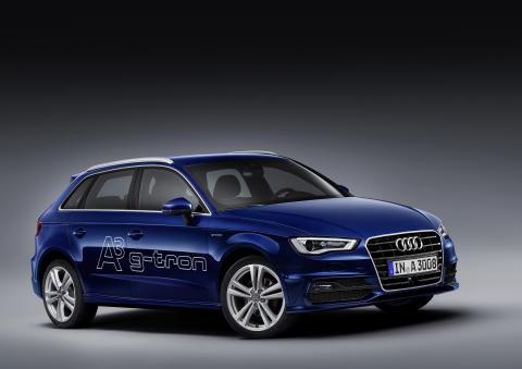 Premiär för Audi A3 Sportback g-tron i Geneve