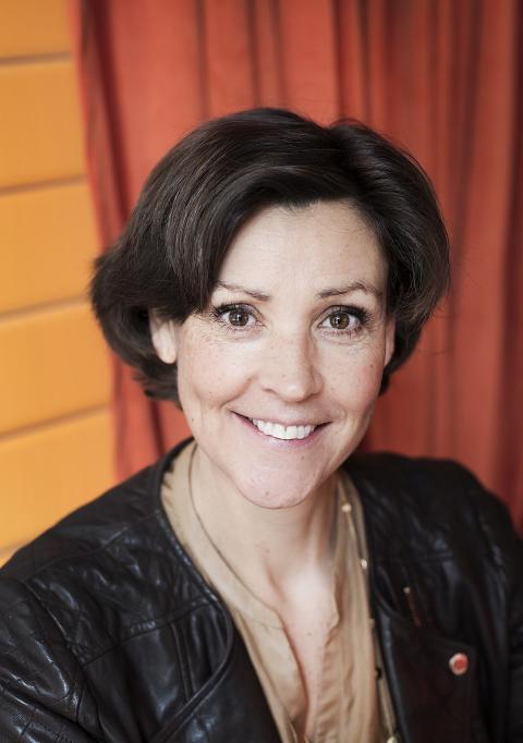 Lottie Knutson föreläser på effect+dagen i Gävle