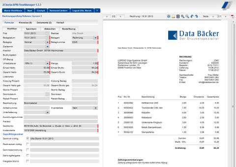 Diersch & Schröder Unternehmensgruppe setzt auf Rechnungsworkflow von LORENZ