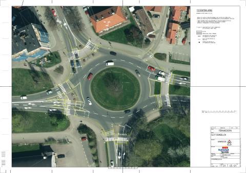 Plan för trafiksäkerhetshöjande åtgärder i Slottsrondellen