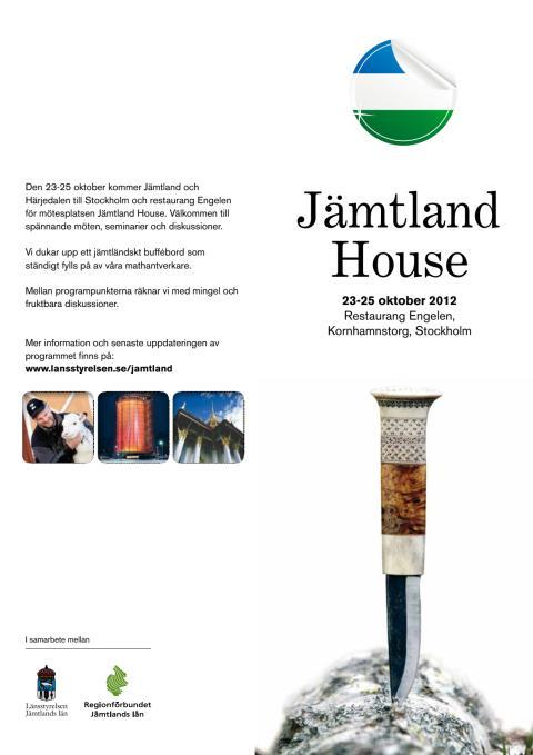 Program Jämtland House