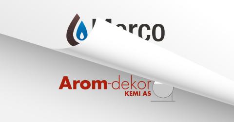 Merco AS blir 100% svenskägt och byter namn till Arom-dekor Kemi AS.