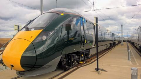 New Intercity Express Trains for Devon and Cornwall begin testing