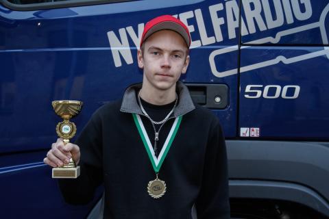 Filip Eriksson från Tomelilla vann kvaltävling till Yrkes-SM i Helsingborg