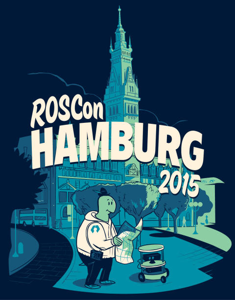 ROScon 2015: Robotik Start-Up Magazino auf Entwicklerkonferenz in Hamburg