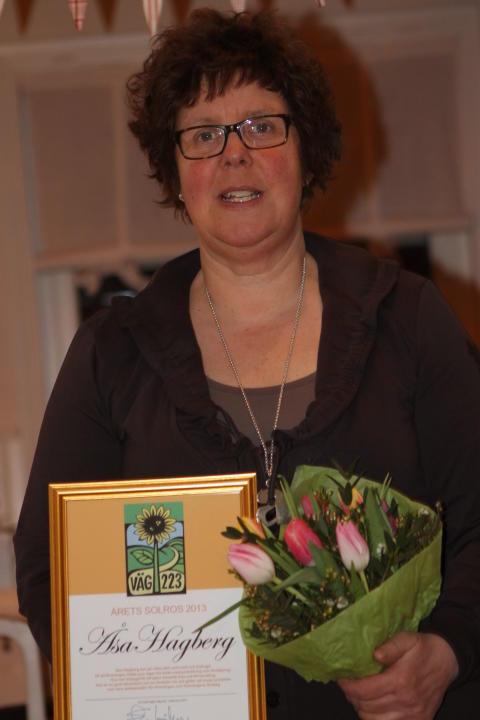 Årets Solros 2013 Utsedd!