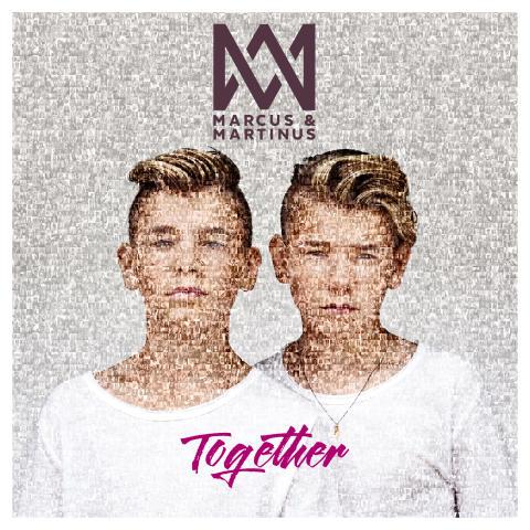 """Marcus & Martinus - """"Together"""" albumomslag"""