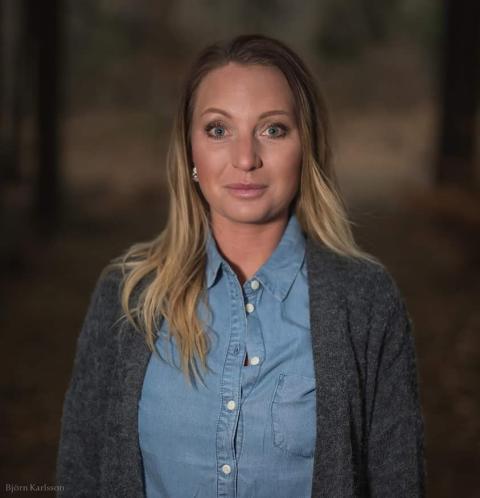Jenny Andersson, strateg folkhälsa och ANDT