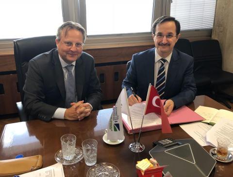 Danmark hjælper Tyrkiet med grøn omstilling