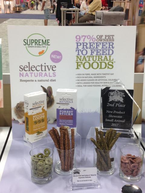 New product showcase award at Superzoo