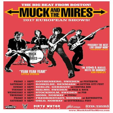 Muck and the Mires: Boston Beat Rockers Gear Up European Tour