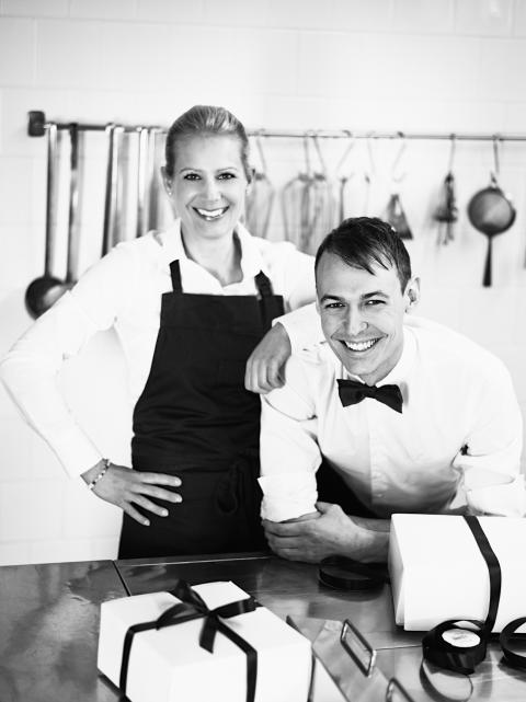 Anna Cardelius och Oscar Målevik Haga Tårtcompani & Bageri