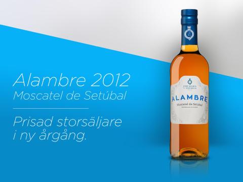 Prisade Alambre Moscatel de Setúbal i ny årgång!