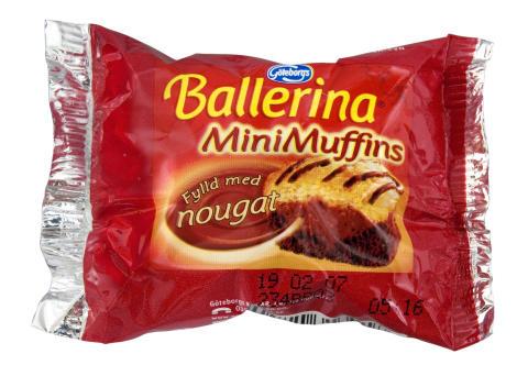 Ballerina Minimuffins portion