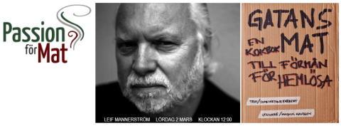 """Mästerkocken Leif Mannerström lagar recept från """"Gatans Mat"""" imorgon på matmässan """"Passion för Mat"""""""