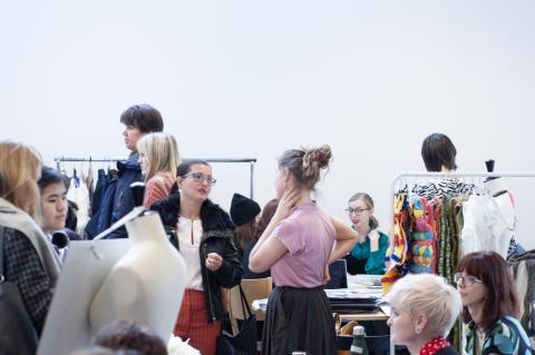 Välbesökt Öppet hus på Textilhögskolan