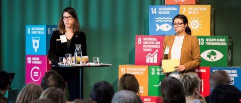 Pressinbjudan: Presentation av miljöredovisningen på konferensen Miljölägesdagen