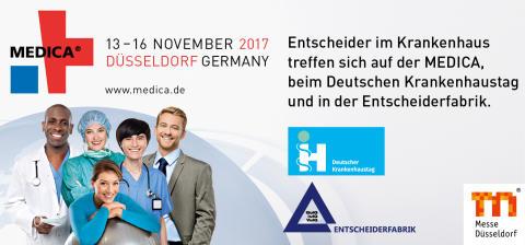 Newsletter KW 33: MEDICA/40. Deutscher Krankenhaustag |Bundestagswahlkampf | VKD-Veranstaltungen