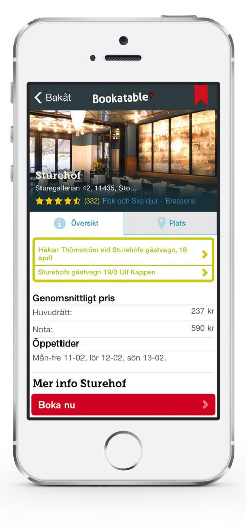 bookatable app 3
