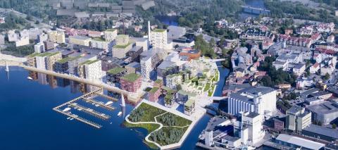 Höegh Eiendom med salgsrekord for nytt boligprosjekt i Moss